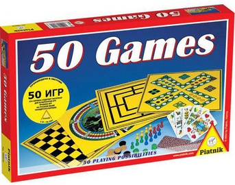 Galda spēle Piatnik 50 Games, LV/RUS