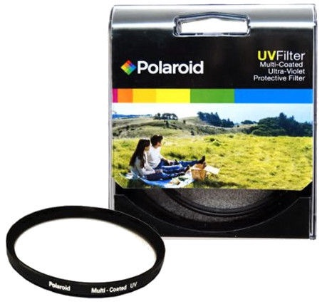 Polaroid Optics Multi Coated UV Protective Filter 49mm