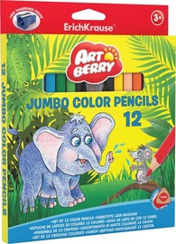ErichKrause Art Berry Jumbo Color Pencils 12pcs