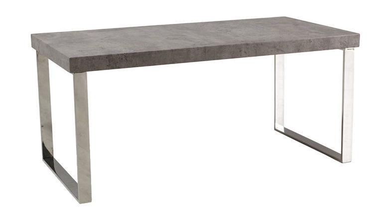 Kafijas galdiņš Signal Meble Modern Rosa Conrete, 1000x500x460 mm