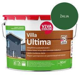 Dažai lauko medienai Villa Ultima, žali, 9L