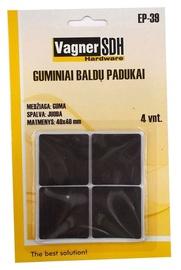 Baldų padukai Vagner SDH EP-39, 40x40 mm, 4 vnt