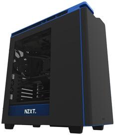 NZXT H440 ATX Black/Blue CA-H442W-M4