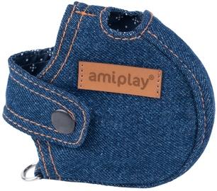 Amiplay Denim Infini Retractable Leash Cover Navy Blue XL