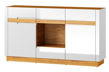 Szynaka Meble Visio 46 Chest Of Drawers Camargue Oak/White