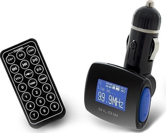 Blow Car FM Transmitter USB SD/MMC Blue/Black