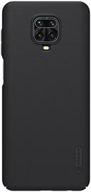 Nillkin Super Frosted Shield Back Case + Kickstand For Xiaomi Redmi Note 9S Black