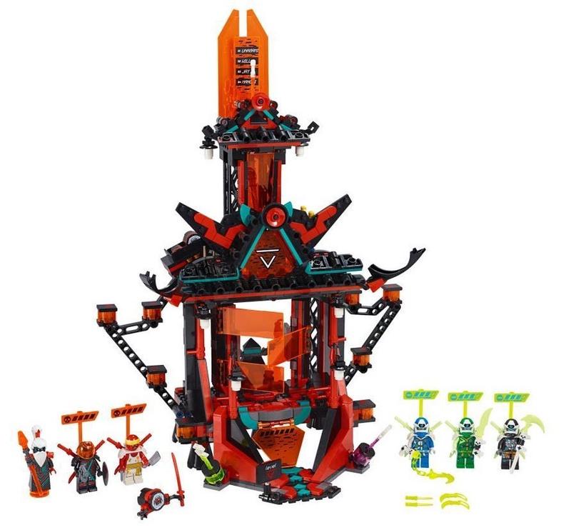 Конструктор LEGO Ninjago Empire Temple Of Madness 71712 71712, 810 шт.