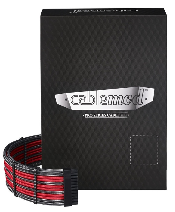 CableMod PRO ModMesh C-Series AXi/HXi/RM Cable Kit Carbon/Red