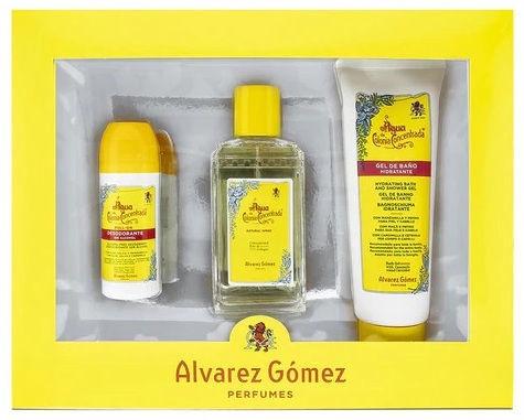 Набор для женщин Alvarez Gomez Agua de Colonia Concentrada 3pcs Set EDC