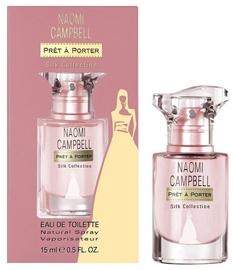 Tualettvesi Naomi Campbell Pret a Porter Silk Collection 15ml EDT