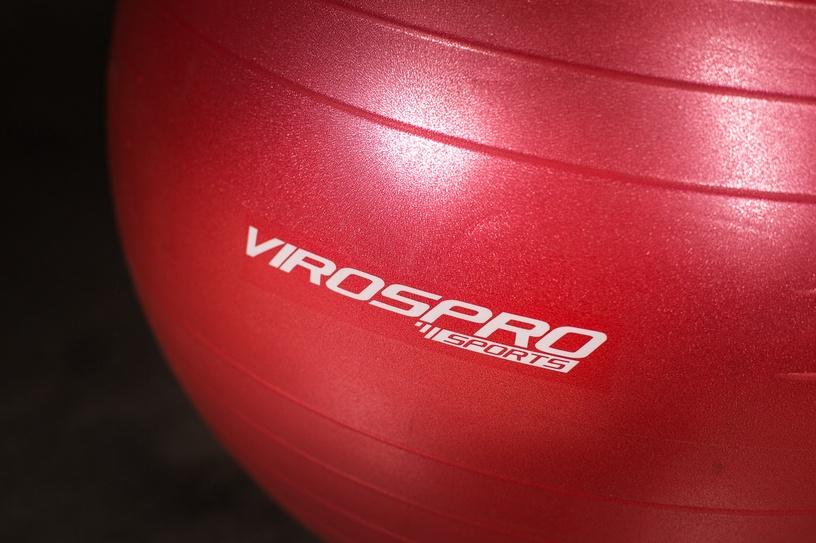 Nesprogstantis gimnastikos kamuolys VirosPro Sports, Ø 65 cm