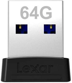 USB-накопитель Lexar S47, черный, 64 GB