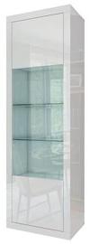 Tuckano Sparkle Showcase 630x1950x410mm White