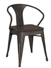 Ēdamistabas krēsls Signal Meble Alva Graphite, 1 gab.