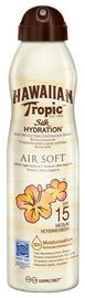 Hawaiian Tropic Silk Hydration Air Soft Sun Protection Continuous Spray SPF15 177ml
