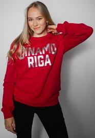 Džemperis Dinamo Rīga, raudonas, XXXL