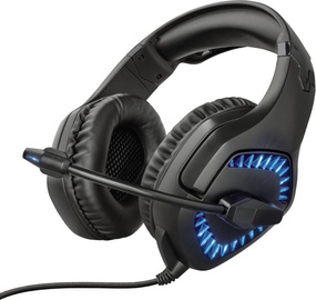 Trust GXT 460 Varzz Over-Ear Gaming Headset Black