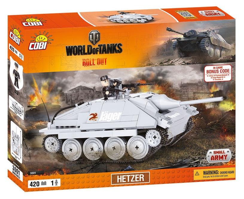 Cobi Small Army World Of Tanks Hetzer 3001