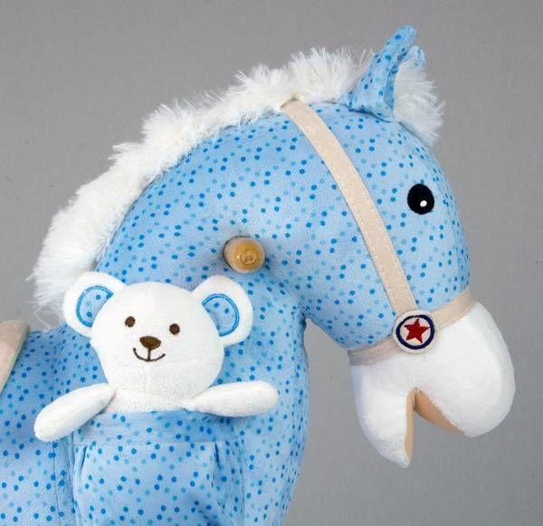 Milly Mally Rocking Horse Pony Blue