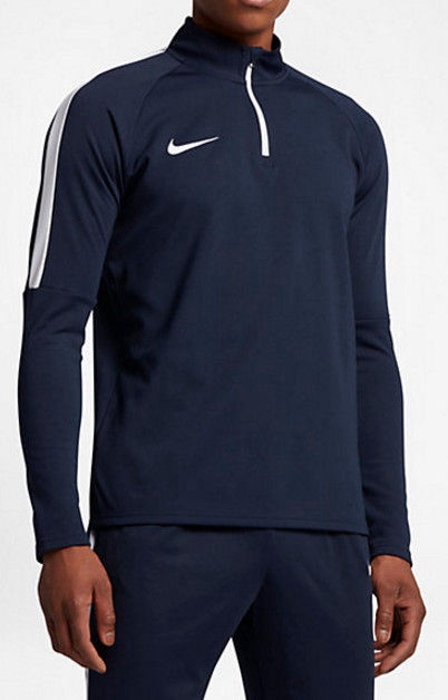 Nike Dry Academy Drill Top 839344 451 Navy XL