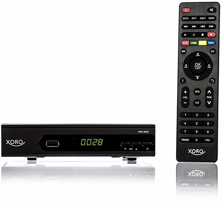 Xoro HRS 8659 Receiver Black