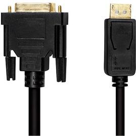 LogiLink Cable DisplayPort to DVI Black 5m