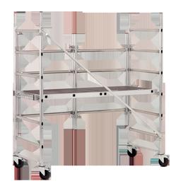 Pastolinės kopėčios Speedy 3 Pack 1, 0.9m