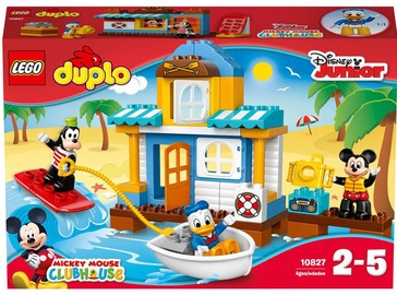 Konstruktor LEGO Duplo Mickey & Friends Beach House 10827