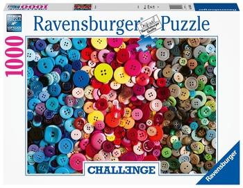 Ravensburger Puzzle Challenge Of Buttons 1000pcs 165636