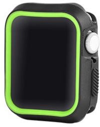 Devia Dazzle Series Protective Case For Apple Watch 44mm Black/Yellow