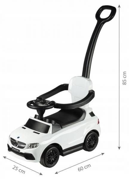 EcoToys The Mercedes AMG GLE 63 Ride On White