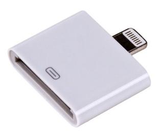 Akyga Adapter Apple 30-pin / Apple Lightning White