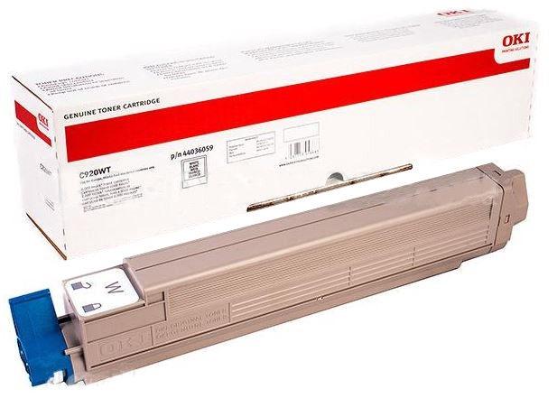 Lazerinio spausdintuvo kasetė Oki C920WT Toner Cartridge White