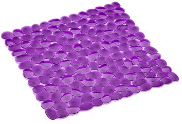 Spirella Non-slip Bath Insert Pebble 54x54cm Purple