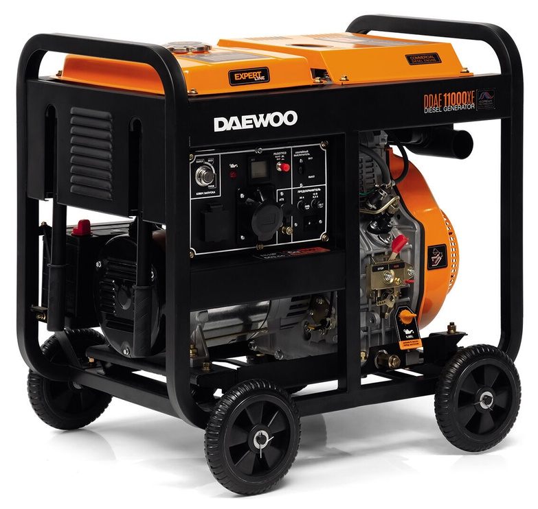 Генератор Daewoo DDAE 11000XE, 7500 Вт