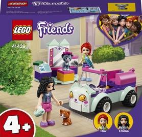 Конструктор LEGO Friends Передвижной груминг-салон для кошек 41439