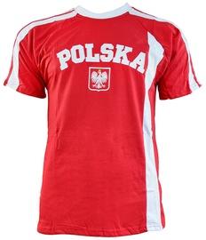 Футболка Marba Sport Poland Replica Cotton T-shirt Red XXL