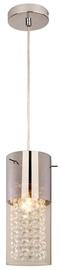 Light Prestige Zara 1 Ceiling Lamp 40W E14 Silver