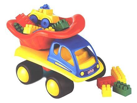 Mänguasi auto klotsidega 00044