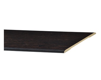 Durų apvadas Everhouse, juodas, 10 x 60 x 2200 mm, 2.5 vnt.