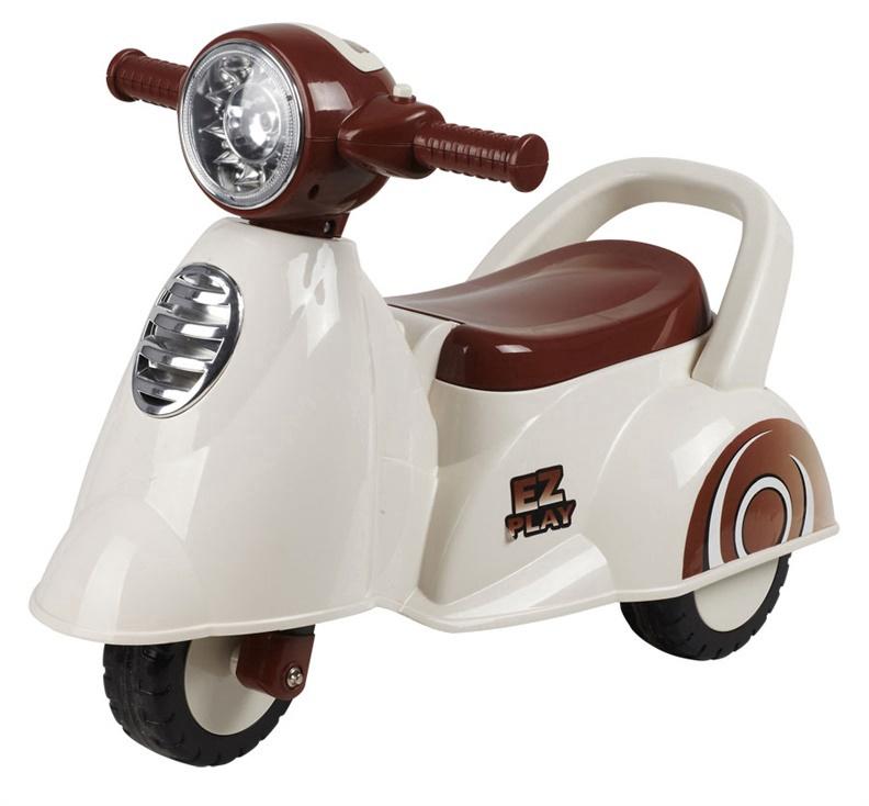 Tõukeratas SN Motorcycle White