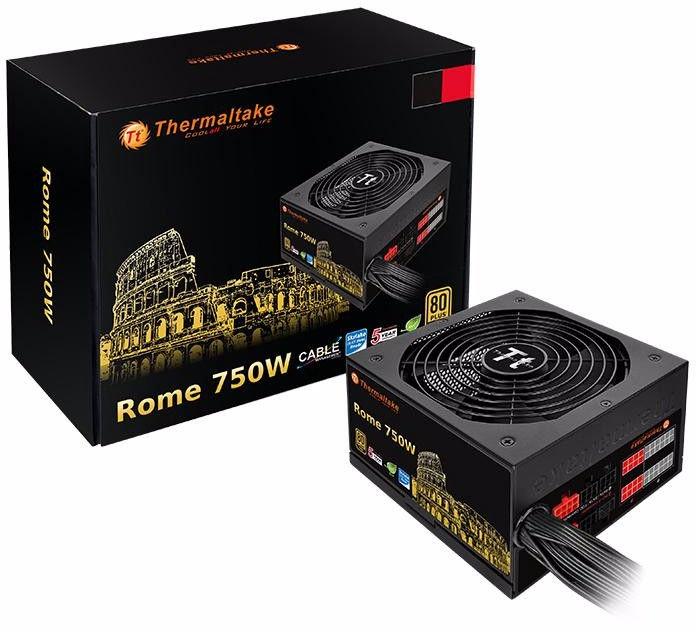 Thermaltake European Gold Rome 750W Gold