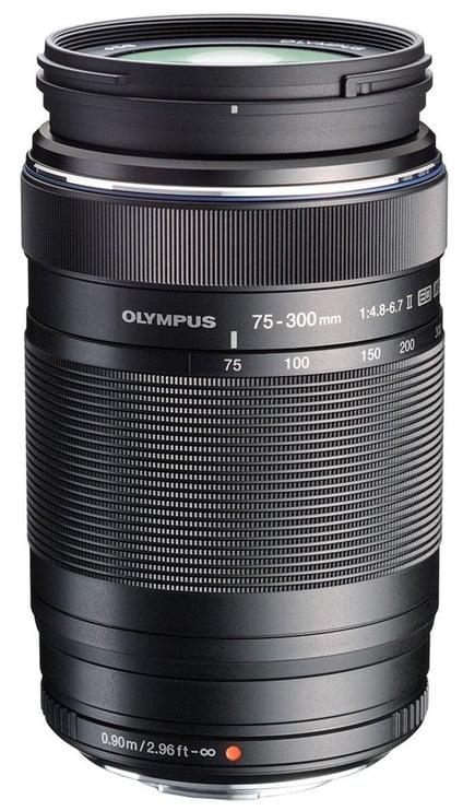 Olympus 75-300mm F4.8-6.7 II M.Zuiko Digital ED Black