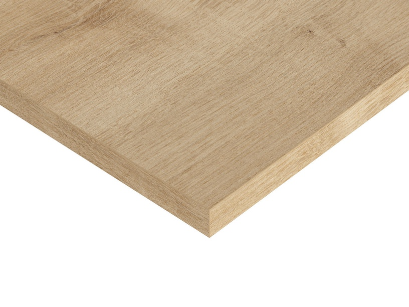 Black Red White Vario Modern Table Top 140x80cm Burlington Oak