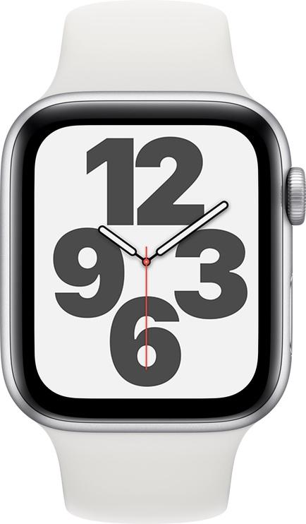 Išmanusis laikrodis Apple SE, balta/sidabro