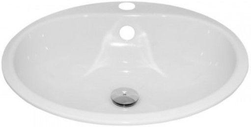 Раковина Alape Round Basin Enamelled Steel 475mm White