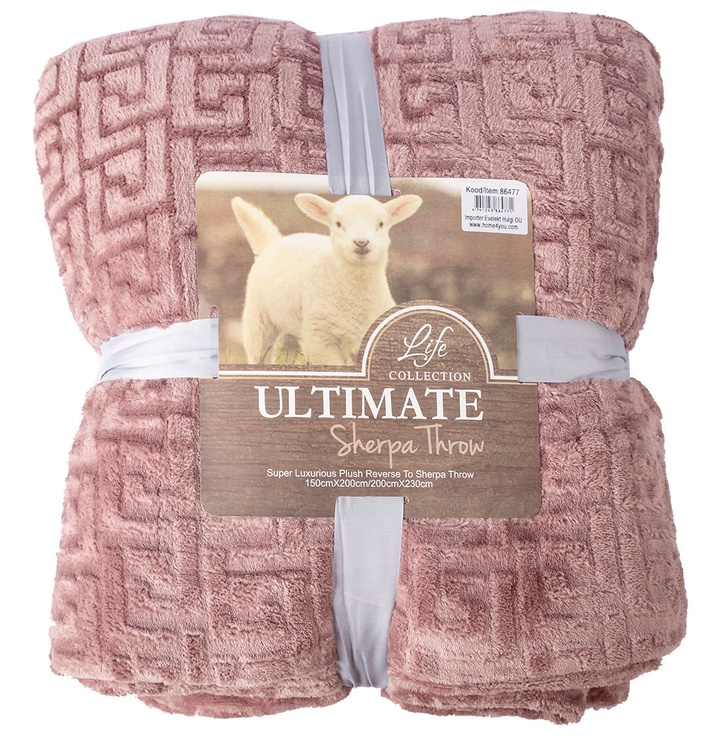 Tekk Home4you Ultimate XL Sherpa Pink, 200x230 cm
