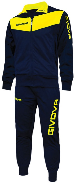 Givova Visa Navy Yellow L