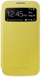 Samsung Super Easy View Book Flip Case i9500 Galaxy S4 Yellow